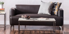 Windsor Two Seater Sofa in Dark Brown Colour