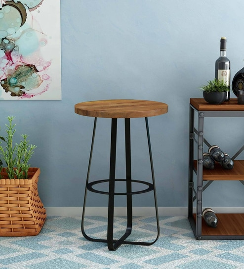 Awesome Winston Bar Stool With Black Powder Coated Frame By Bohemiana Alphanode Cool Chair Designs And Ideas Alphanodeonline
