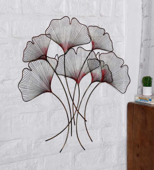 Buy Ethnic Clock Makers Multicolour Metal Wire Tree Wall Art Online ...