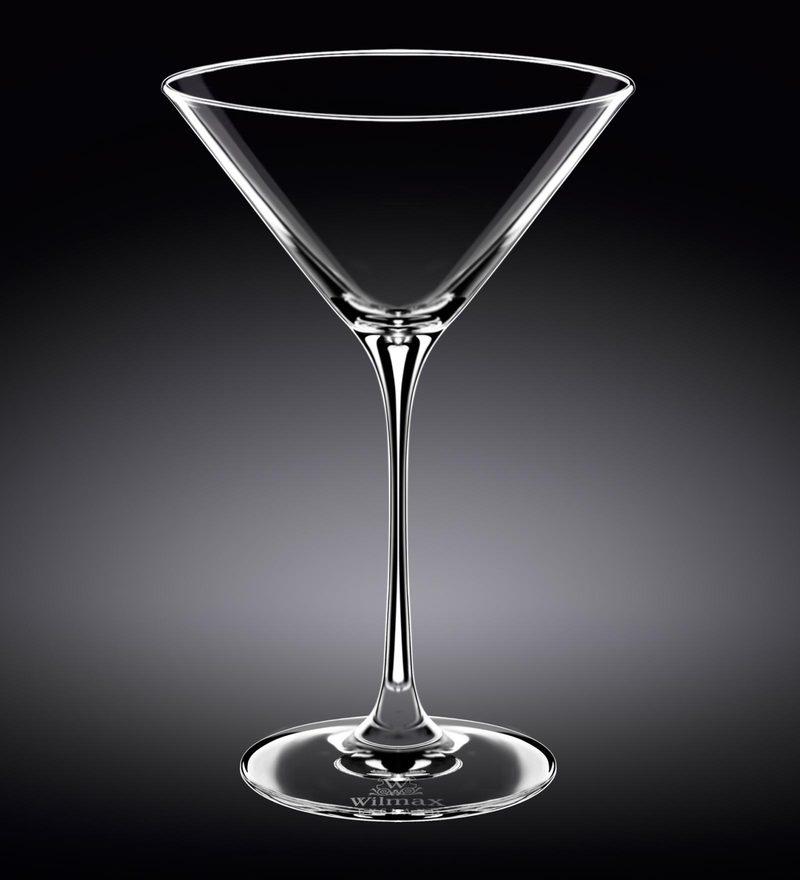 Wilmax England Martini Glass - Set of 2 in Colour Box