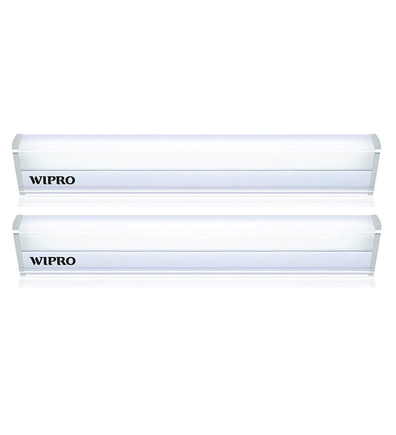 Wipro Garnet Warm White 5W LED Batten Tubelight - Set of 2