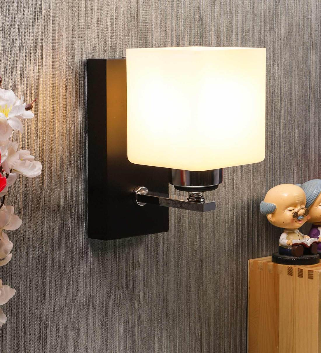 Buy Wooden Wood Wall Light By Eliante By Jainsons Lights Online Contemporary Wall Sconces Wall Lights Lamps Lighting Pepperfry Product