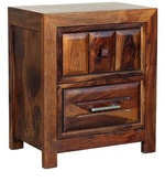 Woodrow Night Stand in Honey Colour