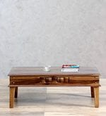 Woodway Coffee Table in Provincial Teak Finish