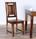 Woodway Dining Chair in Provincial Teak Finish