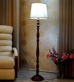 Khadi Poly Cotton Floor Lamp