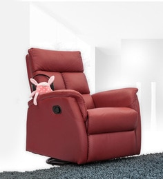 Wonder One Seater Recliner in Red Colour : one seater recliner - islam-shia.org