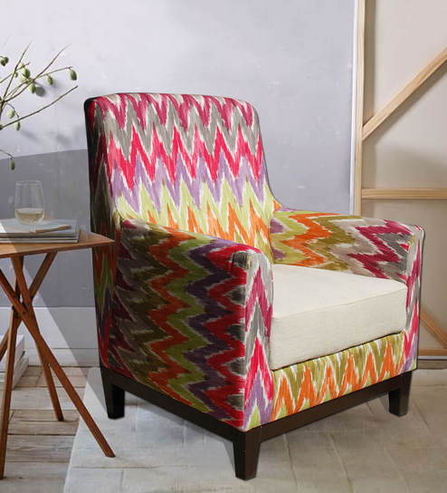 Fabulous Wohlen Accent Chair In Multi Colour By Inscape Design Caraccident5 Cool Chair Designs And Ideas Caraccident5Info