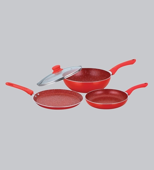 Buy Wonderchef Royal Velvet Aluminium Cookware Set Of 3 Online
