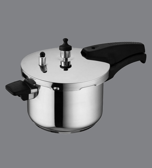 26e25c599 Buy Stainless Steel Pressure Cooker 5 Ltr Online - Pressure Cookers -  Cookers - Kitchenware - Pepperfry Product