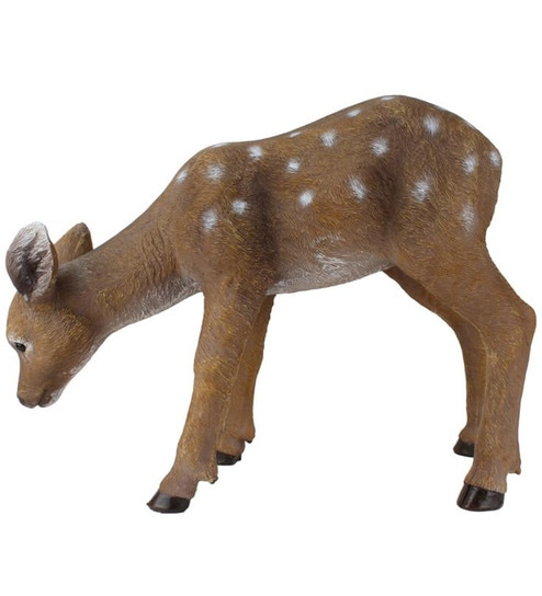 buy wonderland deer eating grass garden decoration online  garden, Garden idea