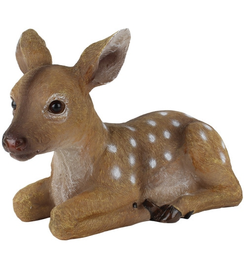 buy wonderland lying deer garden decoration online  garden decor, Garden idea