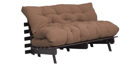 Work Double Futon With Mattress In Beige Colour By Auious