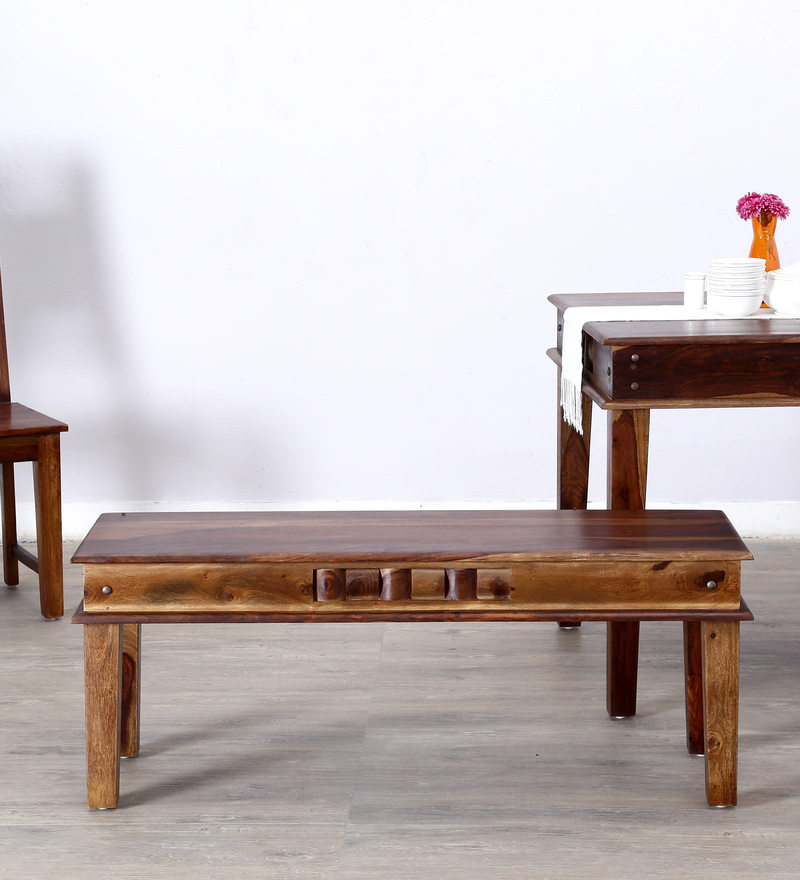 Woodway Bench in Provincial Teak Finish by Woodsworth