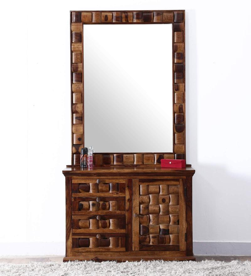 Buy Woodway Dressing Table In Provincial Teak Finish By