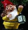 Gnome Holding Glow Lamp by Wonderland