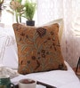 Woodson Brown Linen & Wool 18 x 18 Inch Cushion Cover - Set of 2