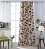 Woodson Cream Cotton 51 x 83 Inch Door Curtains - Set of 2