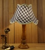 Grey Jute Table Lamp by Woody Lamp House