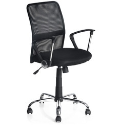 Xeon MB Ergonomic Chair in Black Colour by Nilkamal at pepperfry