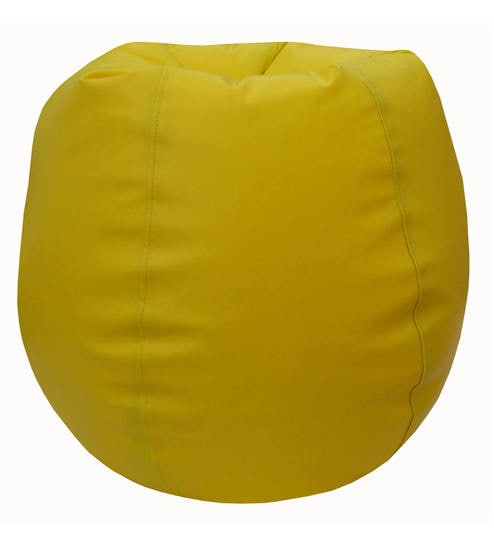 Terrific Classic Xxxl Bean Bag With Beans In Yellow Colour By Orka Short Links Chair Design For Home Short Linksinfo