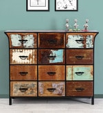 Yandera Chest of Drawers in Distress Finish
