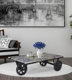 Yatela Coffee Table with print