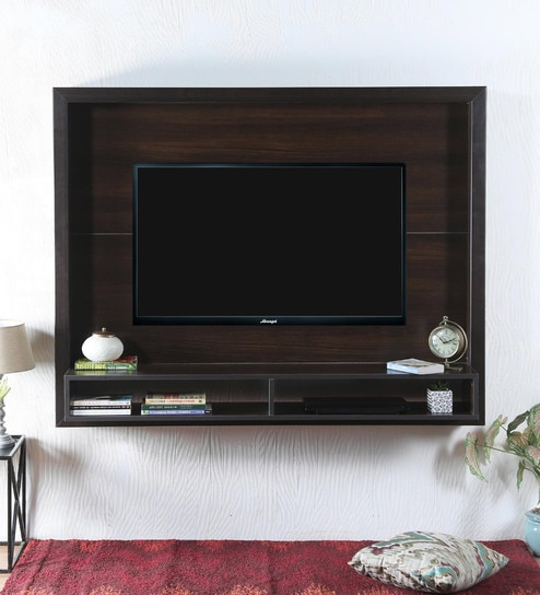 Buy Yasuo Entertainment Unit in Tobacco Finish by Mintwud Online ...