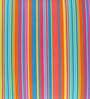 Yamini Multicolour Cotton 16 x 16 Inch Candy Stripes Cushion Cover - Set of 2