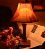 Feel Good Multicolour Wooden Table Lamp by Yashasvi