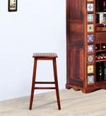 Yelm Bar Stool in Honey Oak Finish