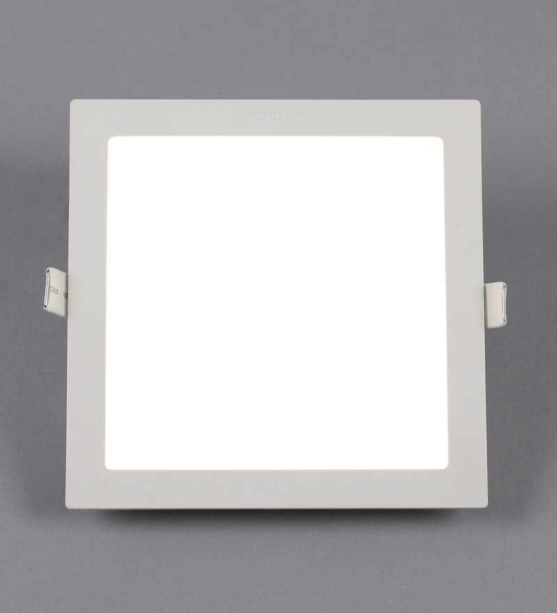 Yellow Plastic Astra Prime 15 W Recessed Ceiling Light by Philips