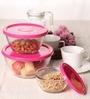 Yera Polo Pink Bowl - Set of 3