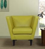 Yonko Low Seater Chair in Yellow Colour