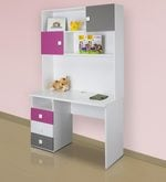Young America Study Table in Majenta Colour
