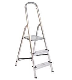 Youngman Classic Aluminium 3 Steps 4.1 FT Ladder