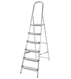 Youngman Classic Aluminium 6 Steps 2.9 FT Ladder