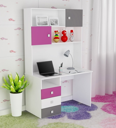 Young America Study Table In Majenta Colour By Alex Daisy Online Kids Tables Furniture Pepperfry Product