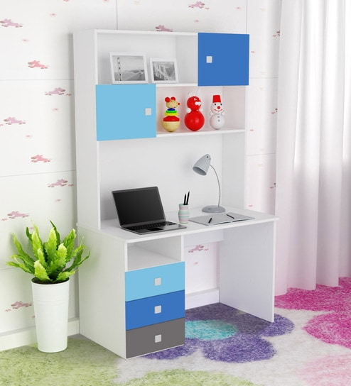 Buy Young America Study Table In Multicolor By Alex Daisy Online