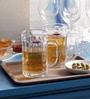 Yujing Glass 400 ML Beer Mug  Set of 6