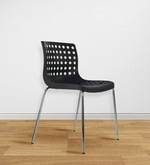 Zack Accent Chair in Black Colour