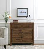 Zagreb Sideboard in Dark Walnut Finish