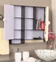 Ivory Acrylic Bathroom Cabinet
