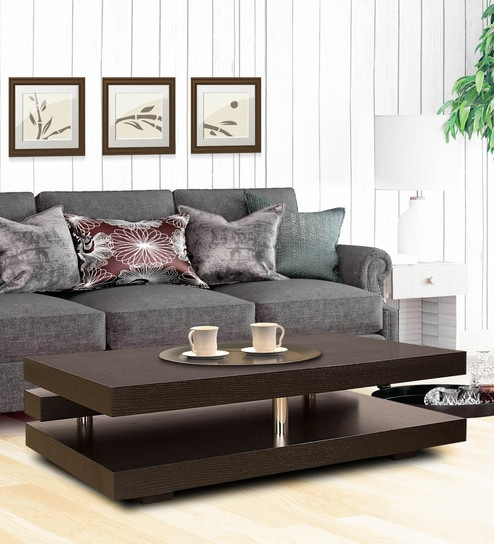 Zara Center Table in Wenge Colour by HomeTown