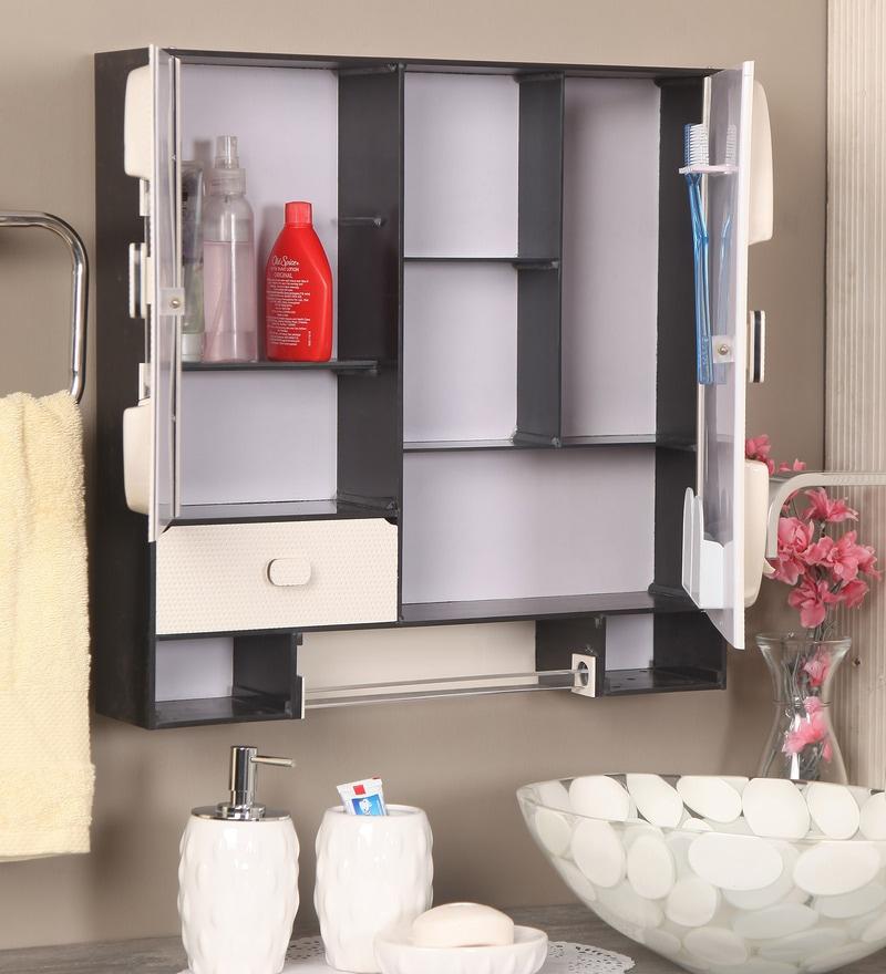 Buy Ivory Acrylic Bathroom Cabinet by Zahab Online - Bathroom ...