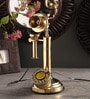 Zahab Gold Brass Retro Telephone