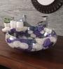 Zahab Wheel Mix Pebbles Multicolour Resin Wash Basin (Model: P7-10)