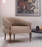 Zerina Chair with Leather Accents