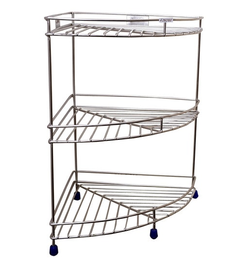 Corner Steel Rack For Kitchen - Kitchen Appliances Tips And