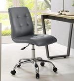 Zingy Ergonomics Chair in Grey Leatherette